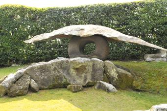 仙巌園石燈籠